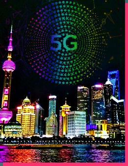 gala drone Chinese new-year Shanghai, China